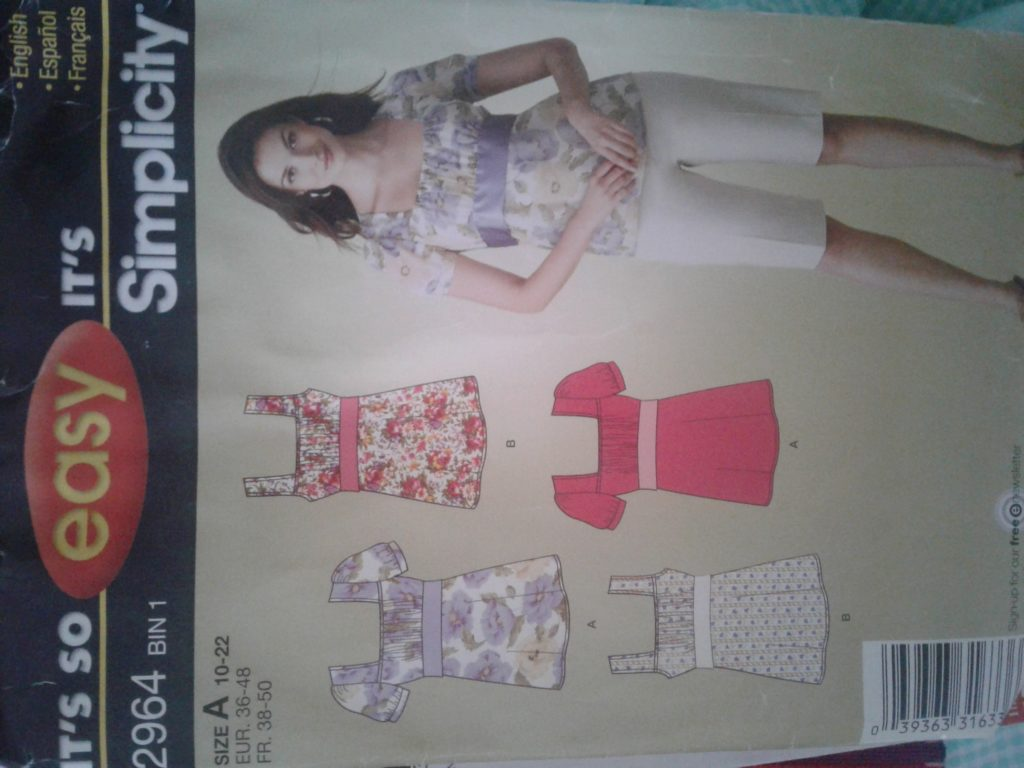 Which Sewing Pattern Soze