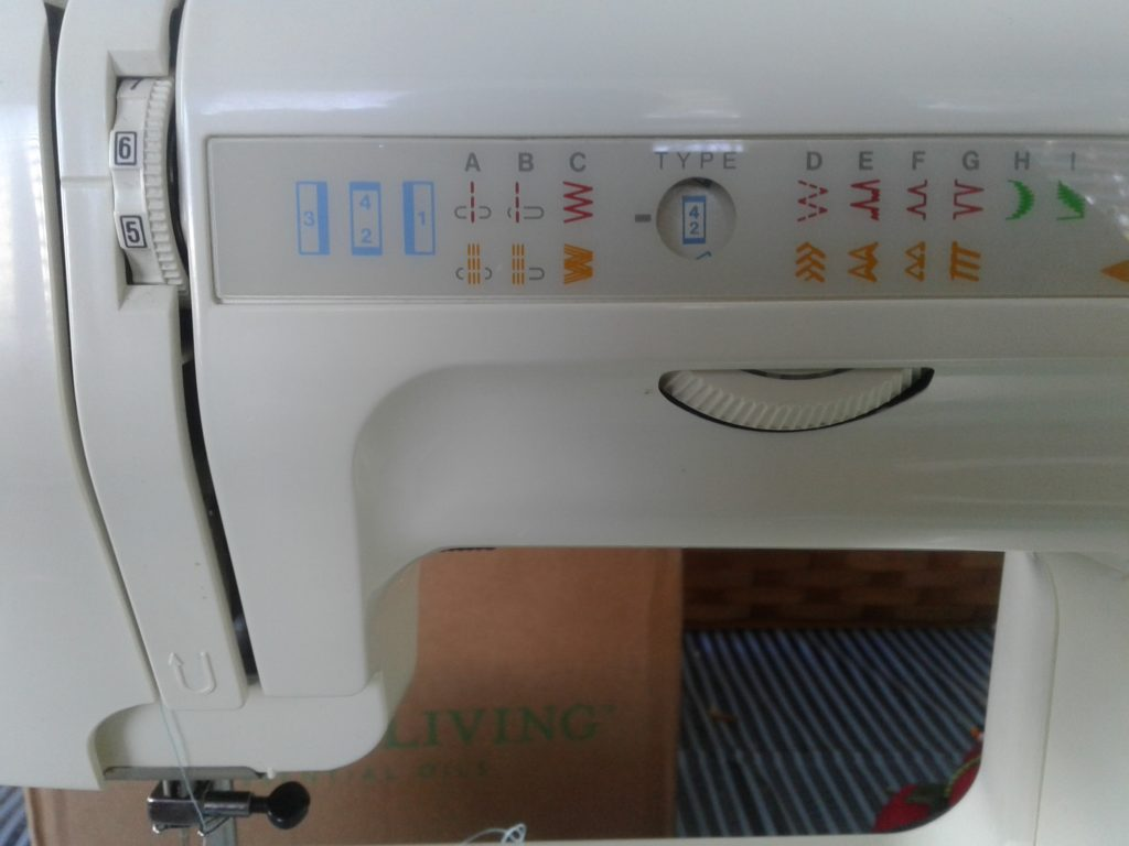 How to sew a button hole - machine setting